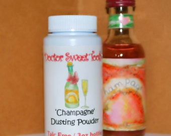 Champagne Dusting Powder 3oz