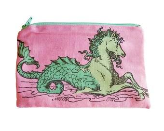 Mystical Seahorse Pouch