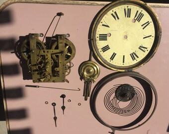 Clock Parts Gears Steam Punk