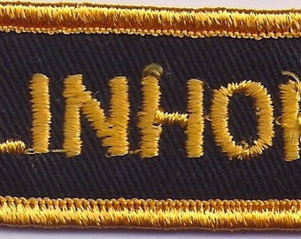 Vintage Linhof Sew On Patch from New Old Stock