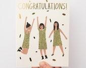 Congratulations Girls Card
