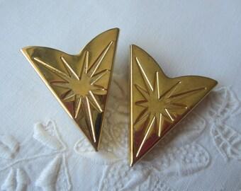 Vintage Brass Shoe Clip