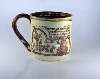 Medieval Beekeeper Mug