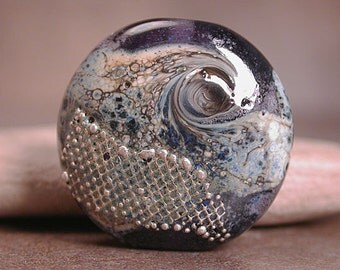 Artisan Glass Focal Bead Organic Divine Spark Designs SRA