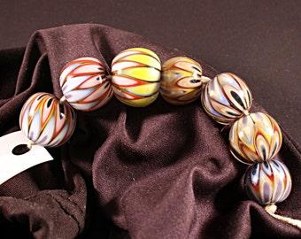 Lampwork  Art Beads by Jeanniesbeads #606