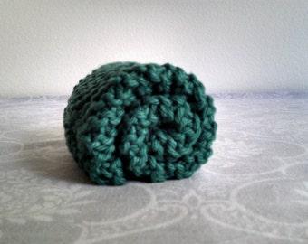 Sea Green Cotton Dishcloth