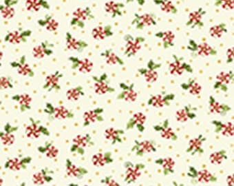 Candy Swirls - From Benartex - Cream (21000) - 1 Yard - 7.95 Dollars
