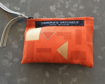 Summer Orange Julep Coin Purse