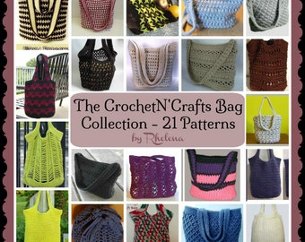 The CNC Bag Collection ~ Crochet Patterns