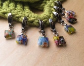 7 Stitch Markers - Your Choice Crochet or Knit - Cheeky Chicklets