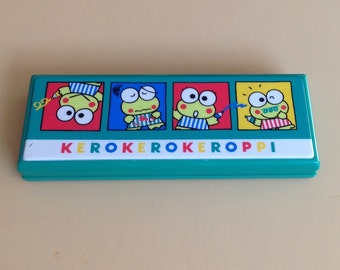 Vintage Kerokerokeroppi Pencil Box