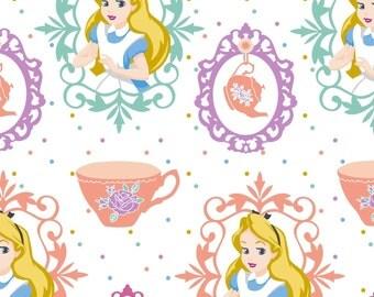 Disney Alice in Wonderland, Alice and Teacups, 1 yard
