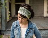 WindSong in Fern Garlands of Grace Specialty Lace headwrap headcovering veil headband