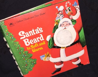 Remake of 1974's Santa's Beard Touch Book