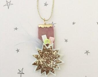 Whimsy Starburst Necklace