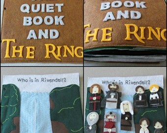 Completed Lord Of The Rings Quiet Book