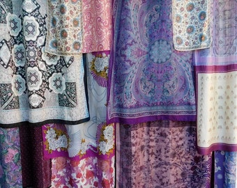 TWILIGHT IN TANGIER  - Bohemian Gypsy Curtains Handmade by Babylon Sisters