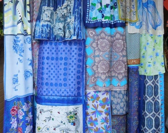 Tangled Up In Blue - Bohemian Gypsy Curtains