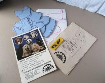SonRise Ryan O'Lion Stuffed Lion Pattern for you to Sew, UNCUT 1987