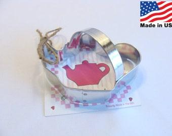Teapot Cookie Cutter by Ann Clark