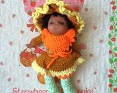 Handmade Orange Blossom Doll