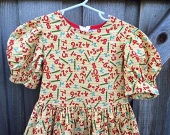 ABC Dress 4T