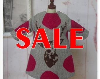 SALE~~LADYBIRD HOUSE Blythe Outfit Deer Dress - B