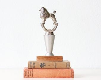 Vintage Poodle Trophy