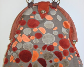 Mini-Mary Poppins Backpack/Book Bag/Project Bag-PEBBLES