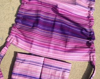 Sale Rts aurora hood set with purple siren song twilight cotton fabric