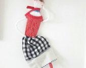Fleur - Illustration wire doll figure