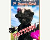 ONSALE Skunk Sewing pattern, Stuffed animal Pattern, PDF Skunk Pattern, Animal Pattern, Stuffy, Plush Skunk, Teddy Bear Pattern, Woodland An