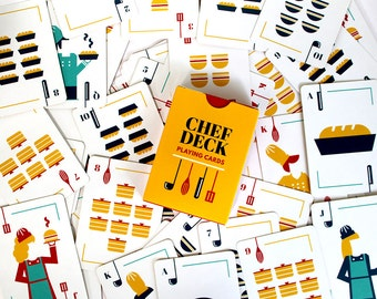 Chef Deck Playing Cards