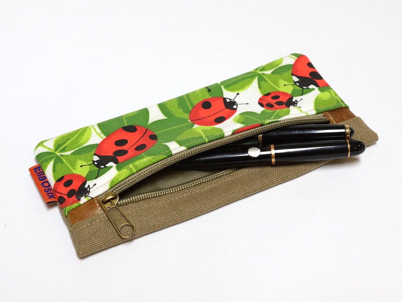 Miraculous Ladybug 2 Layer Pencil Case