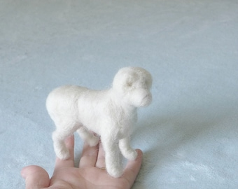 Needle Felted Dog / Poseable Base Sculptures  for Needle Felted Animals Needlecraft / Just add fur by Gourmet Felted