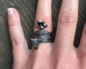 Three ring stacker set