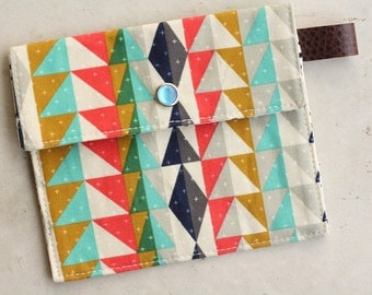 aztec pearl snap wallet-gift card/receipt/coupon/iphone case