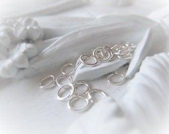Sterling Silver Oval Jump Ring Parcel 5mm 20 Gauge Ring Item No. 2779SO