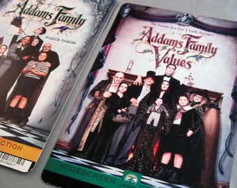 The Addams Family Notebook or 18 Month Planner - You Choose Cover Art