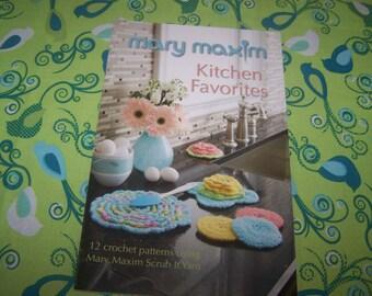 Mary Maxim Kitchen Favorites crochet craft book