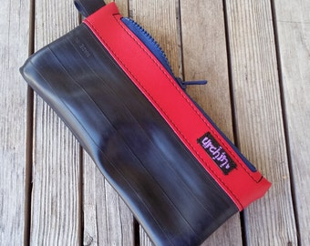 Pencil Case - Made from Bike Inner Tubes - Cosmetic Case