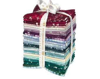 SALE 40% Off Robert Kaufman SUGAR PLUM Fat Quarter Bundle 30 Precut Cotton Fabric Quilting FQs McKenna Ryan fq-1054-30