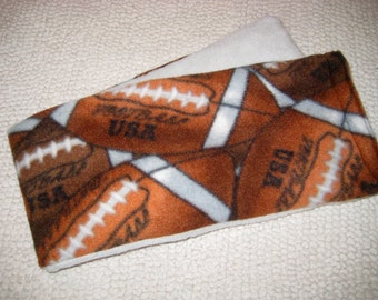 Therapy Rice Bag, Microwave Heat Pack, Rice Heating Pack, Therapy Sack, Football, Super Bowl, Washable Cover,