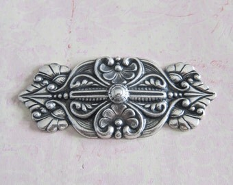 Ornate Silver Bar Finding 2866