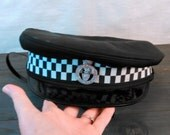 Vintage UK Police Cap With Devon and Cornwall Badge Obsolete 6 7/8
