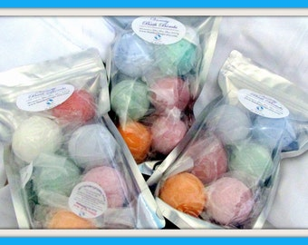 Bath Bomb Mixed Variety 6 Pack - Best Seller -  (Handmade Stardust Soaps Bath Bombs) natural exfoliation, aromatherapy, moisturizing, gift