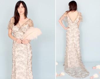ivory black floral modern lace wedding dress sleeve kimono empire boho gothic gypsy alternative winter sale dahl nyc