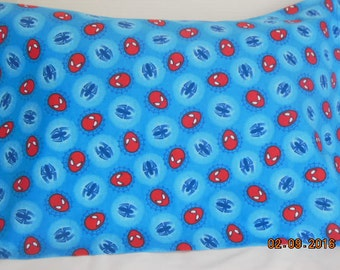 Spiderman Flannel  Pillowcase
