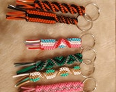 10 Napoleon Dynamite boondoggle rexlace plastic lace keychains