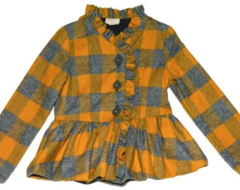 SAMPLE SALE -  Cammie Jacket in Meadowsweet - Size 4